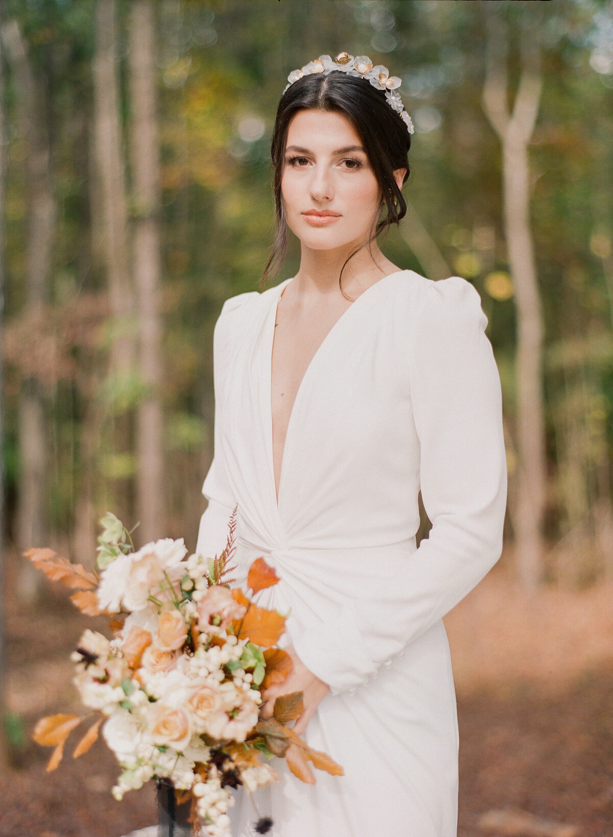 Carolina Grove Bridal Portrait Photography, North Carolina 1