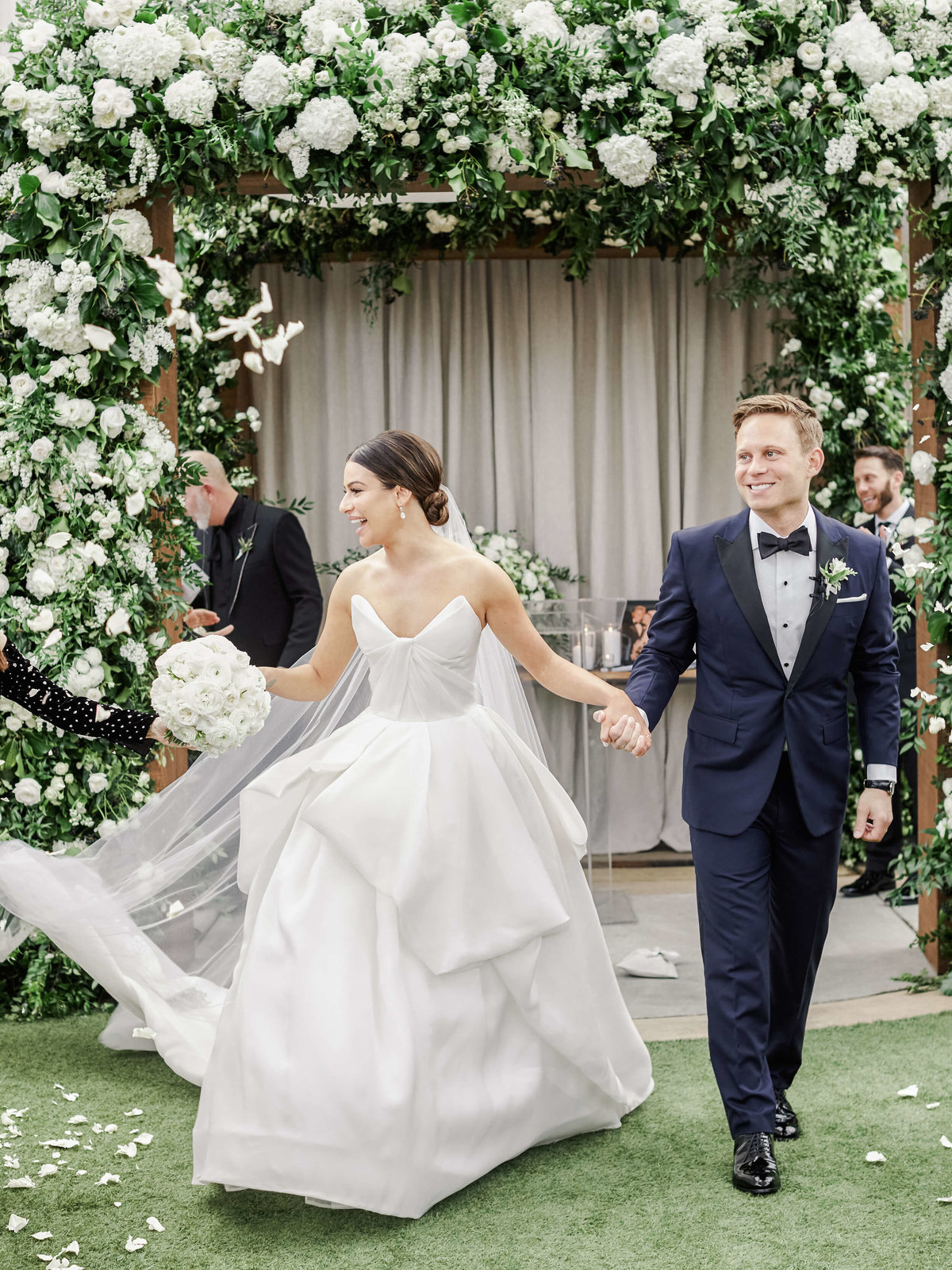 26-KTMerry-photography-Lea-Michele-celebrity-wedding-recessional