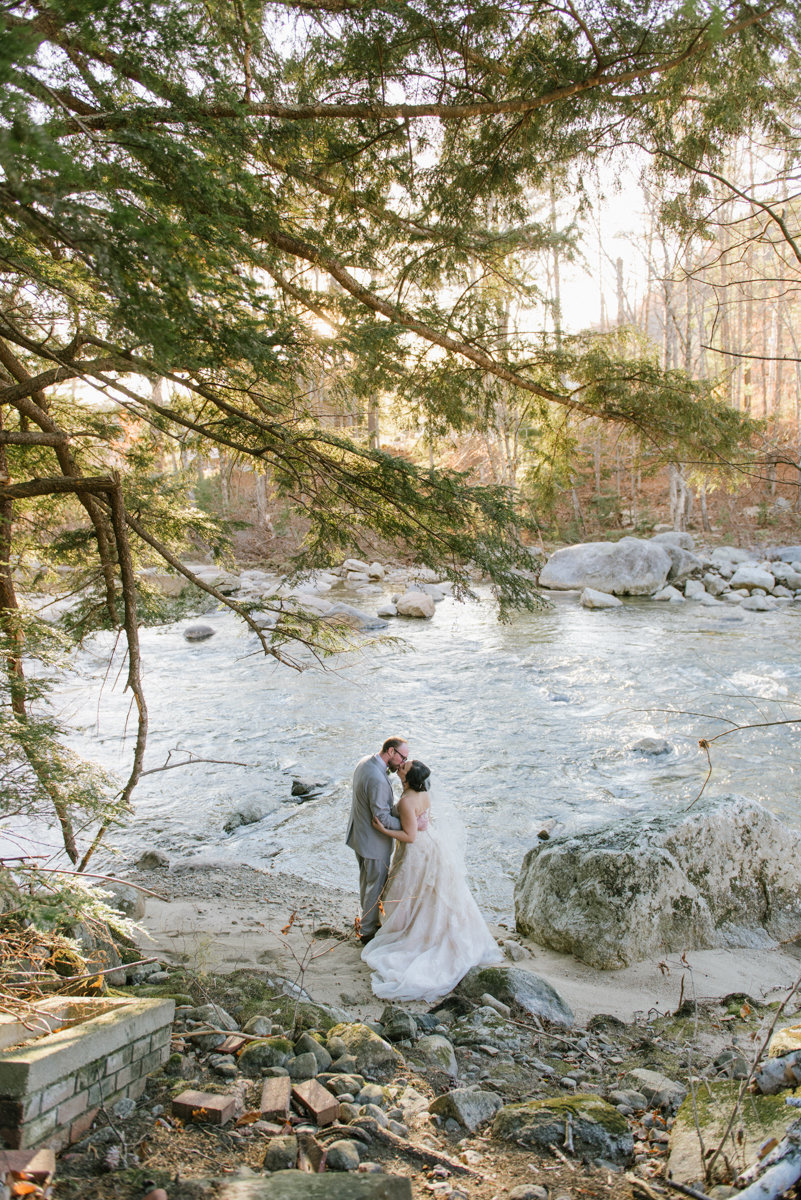 new hampshire wedding woodland forest river lake adventure wanderlust new england love