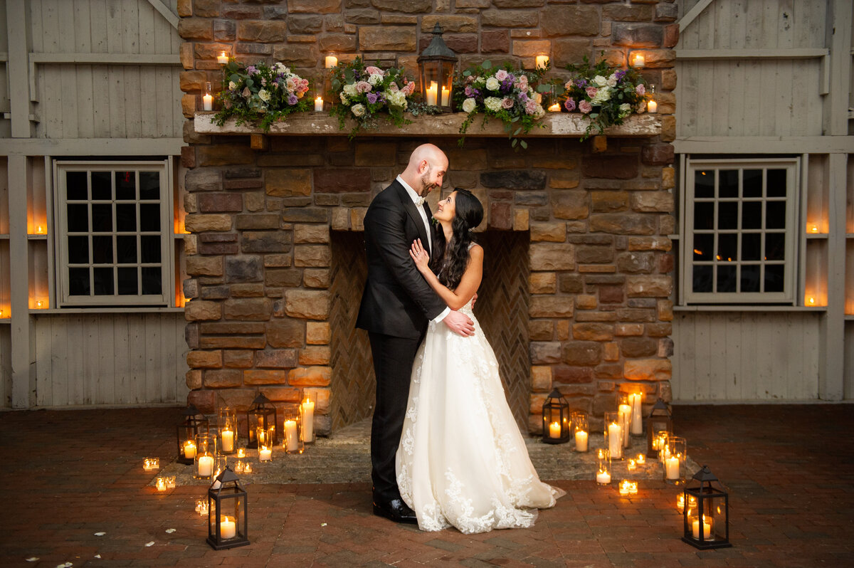 ashford estate candlit ceremony