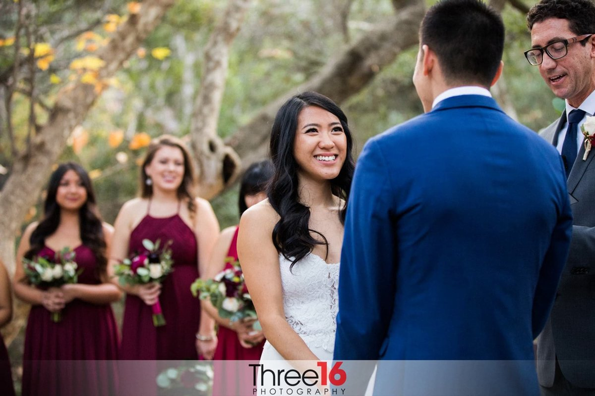 Wedding Ceremony at Oak Canyon Nature Center Anaheim