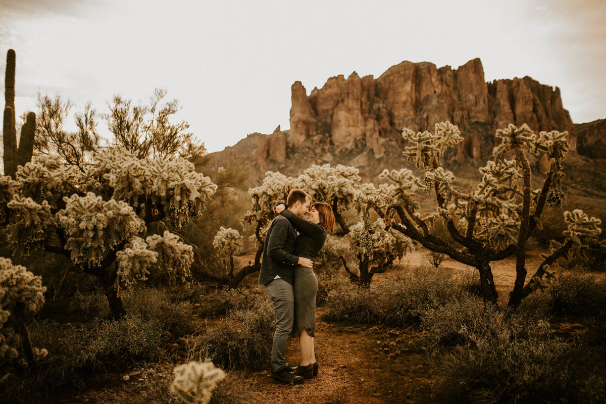 Superstition Mountain | Alison + Justin's Engagement Session | Apache Junction, Arizona | Phoenix Wedding Photographer156