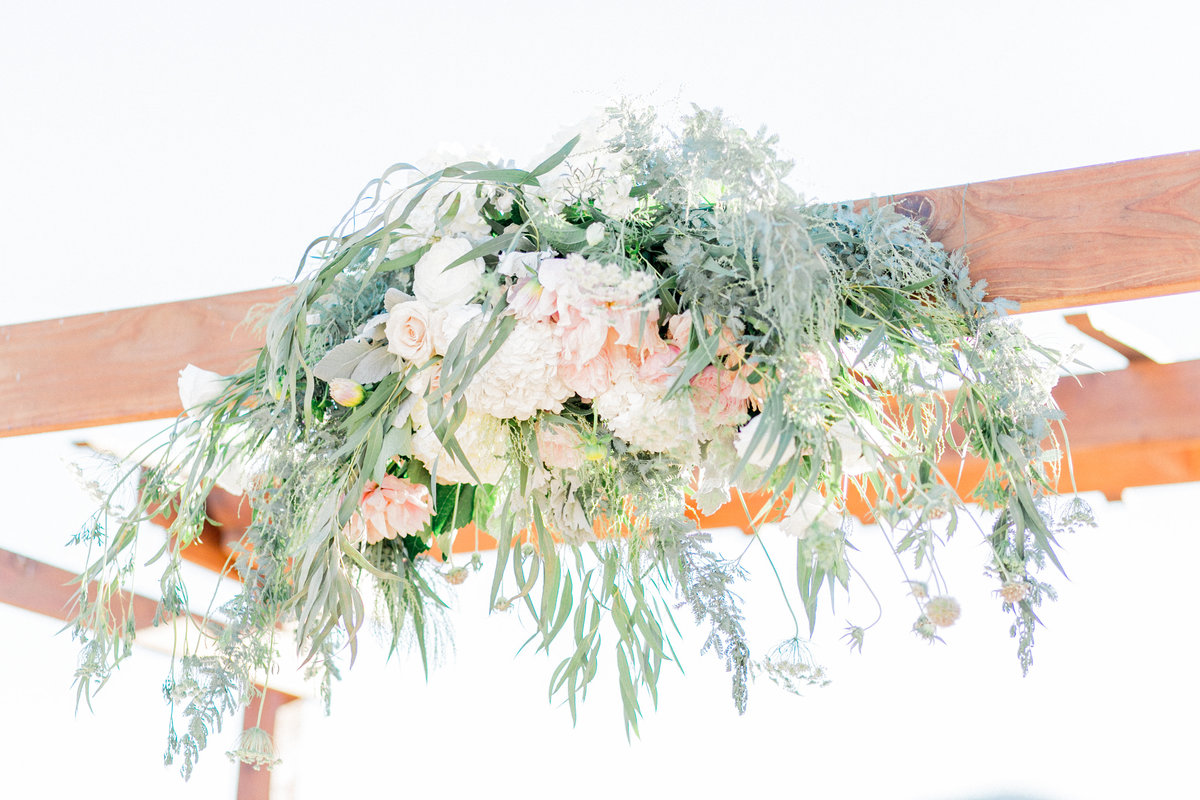 Blush Pink Rustic Wedding Floral Decor