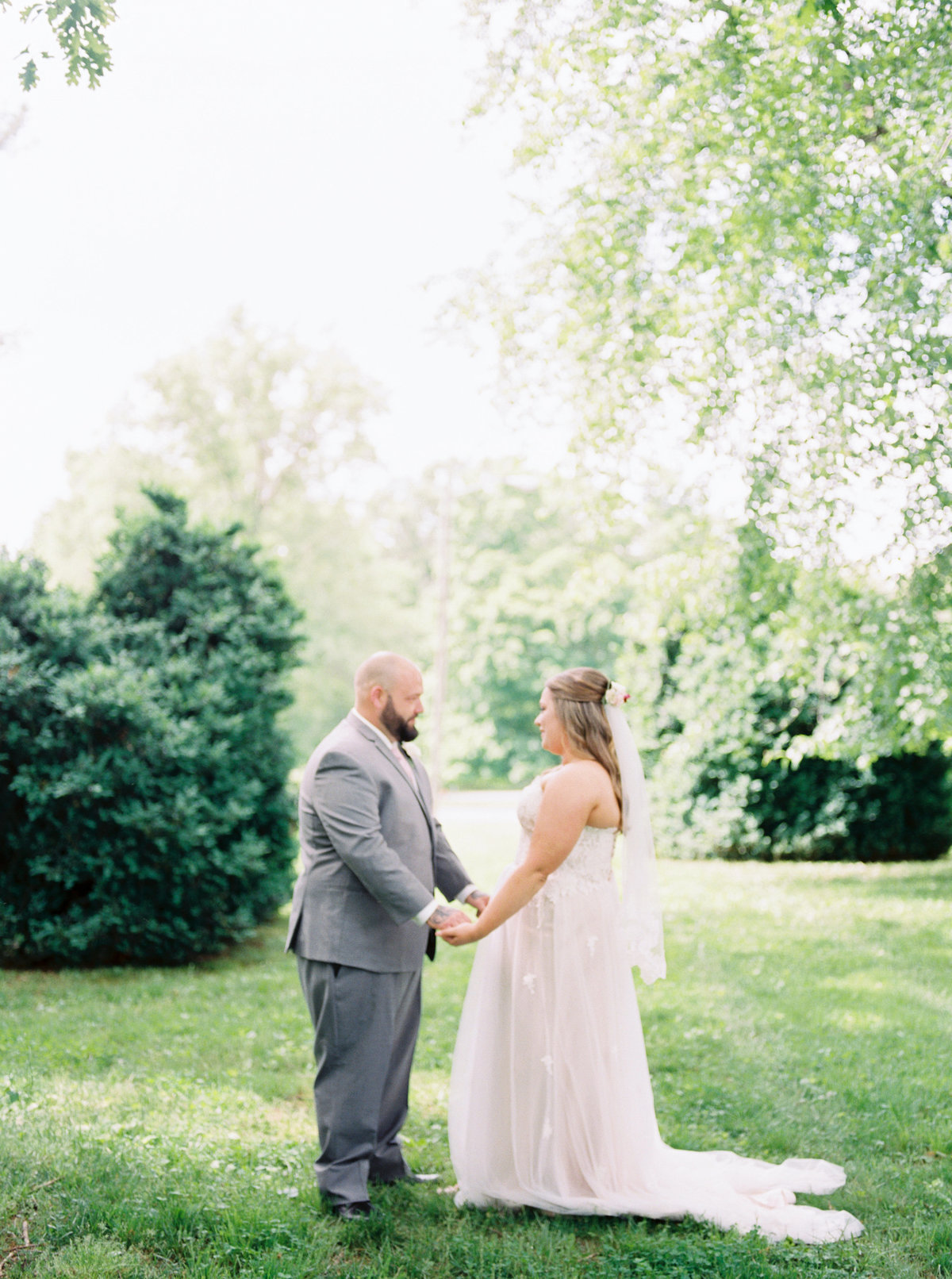 Charlottesville VA Film Wedding Photographer