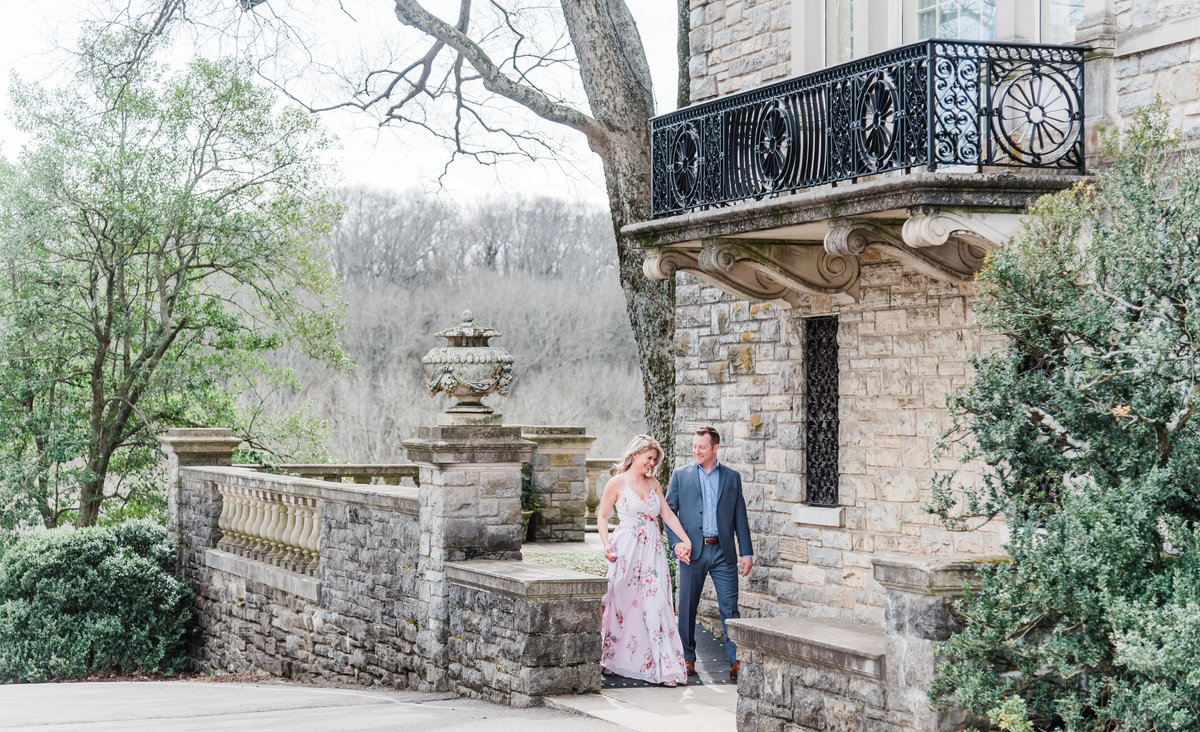 12cheekwood spring engagement session