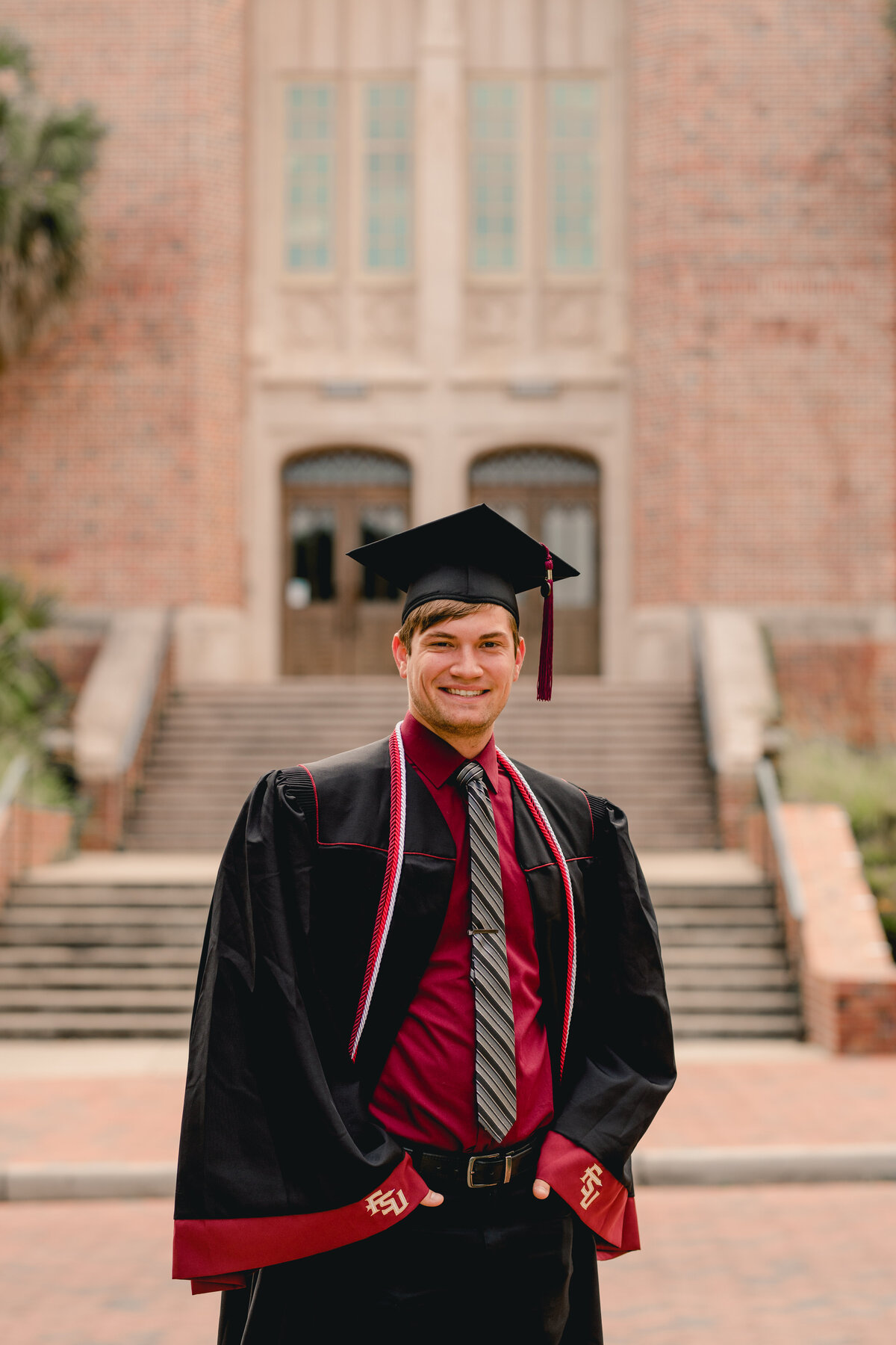 Professional FSU graduation photographer