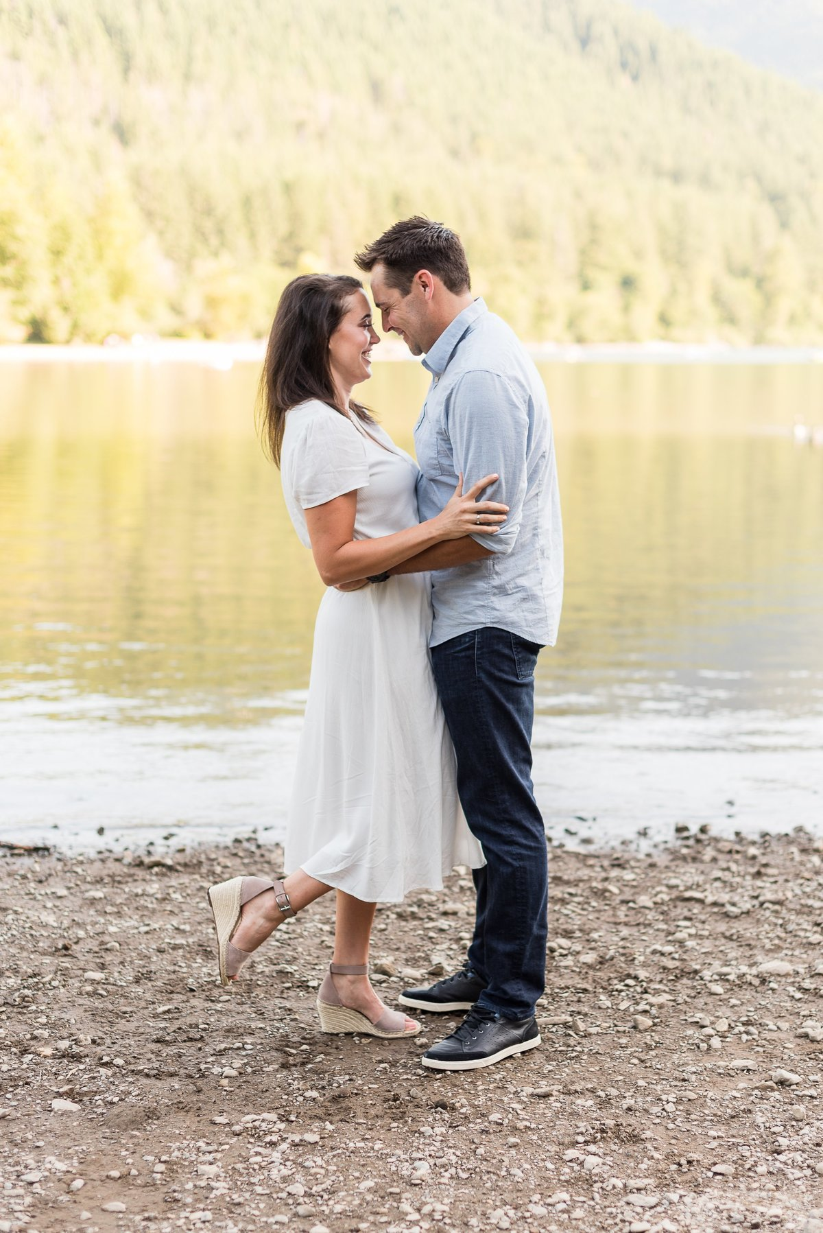 Rattlesnake Lake Engagement Session - 35