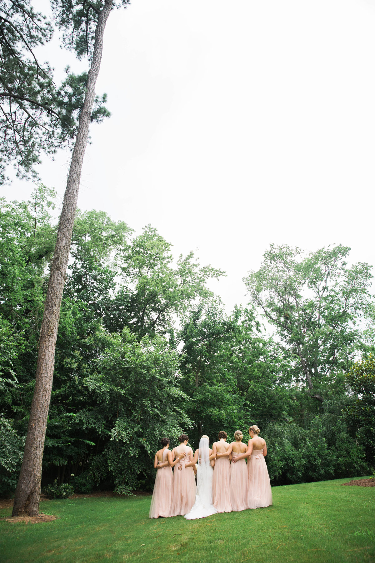 Portsmouth Women's Club bridal party photo