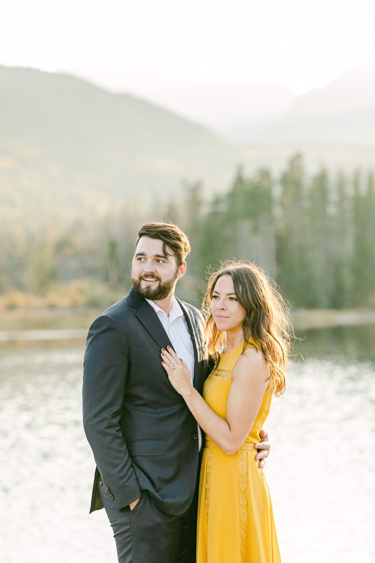 Leidy and Josh Photography | Rocky Mountain Colorado Engagement-32