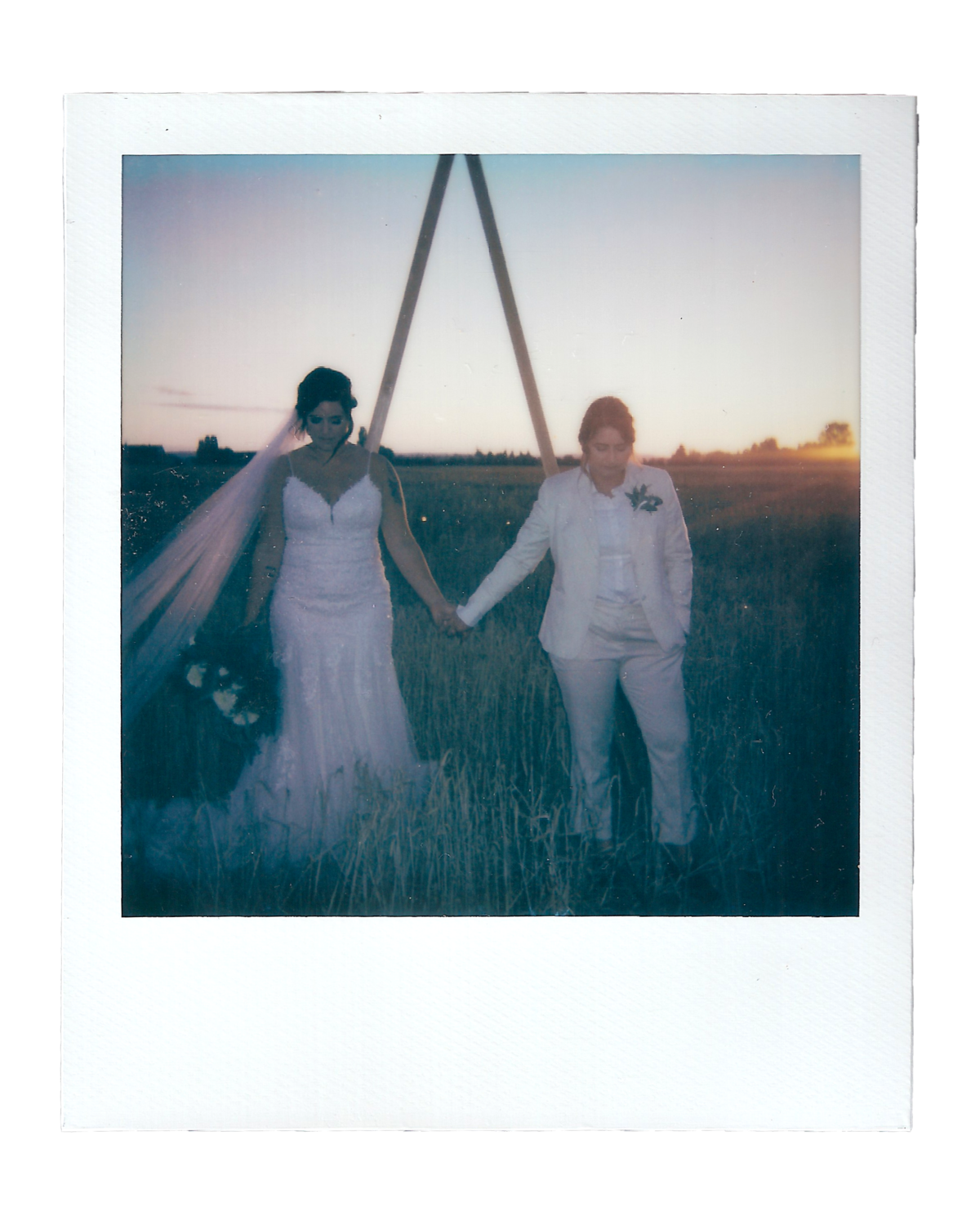 Becca + Katie | The Saltbox Barn - Fir Island, WA | Polaroids00004
