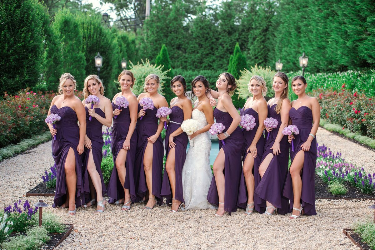 Bridesmaids photo from Larkfield Manor