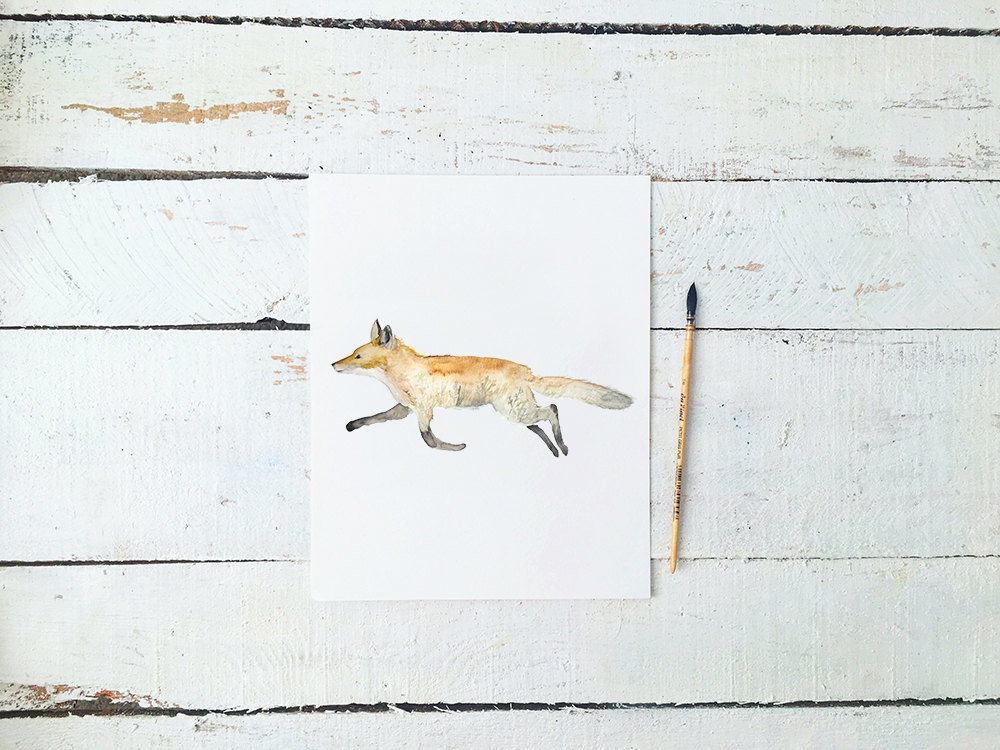 Double_Exposure_Fox_Profile_-_Field_Sunset_Printable_Artwork_-_Animal_Nursery_-_Watercolor_-_Woodlan-490878944-_5