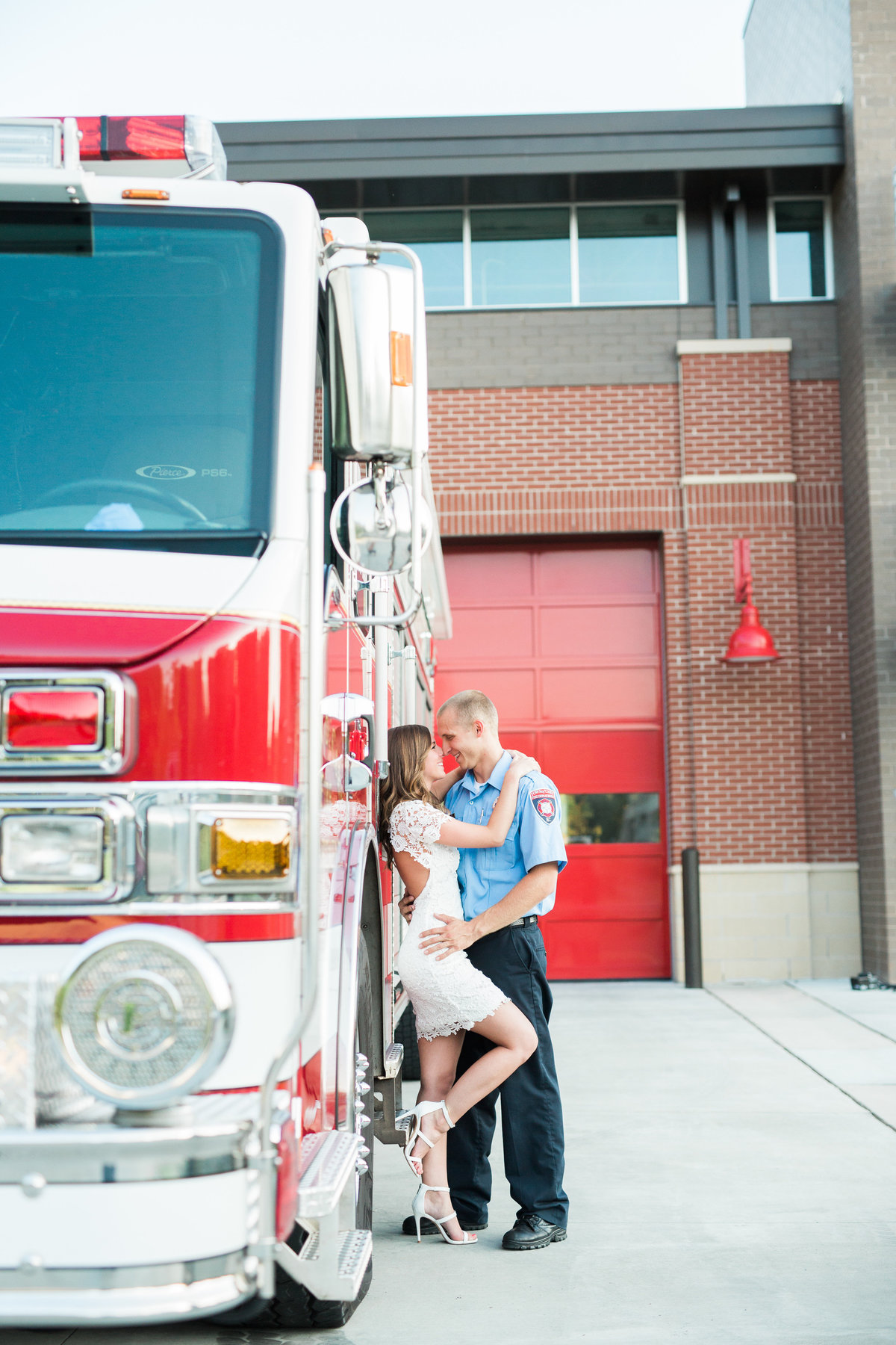 Cary Firehouse engagement session