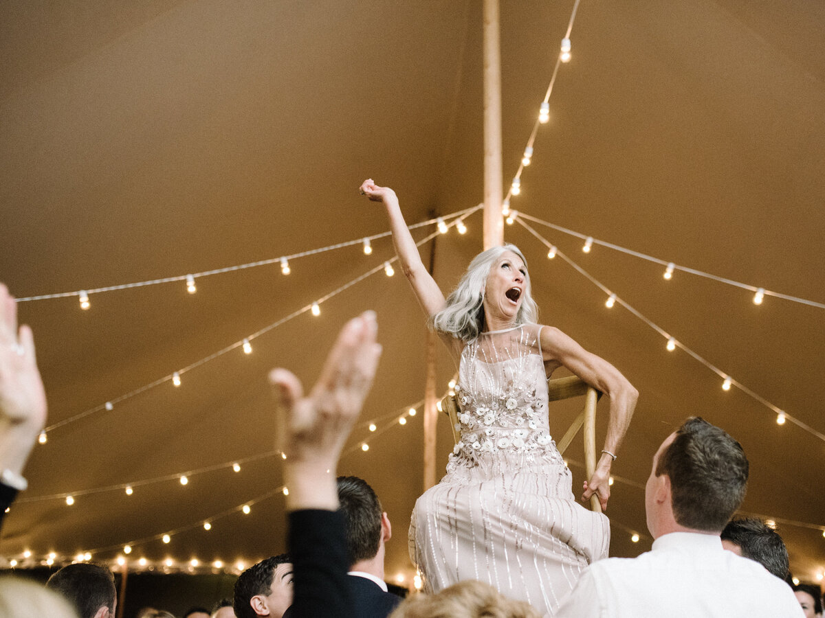 Wings Neck Tented Wedding358