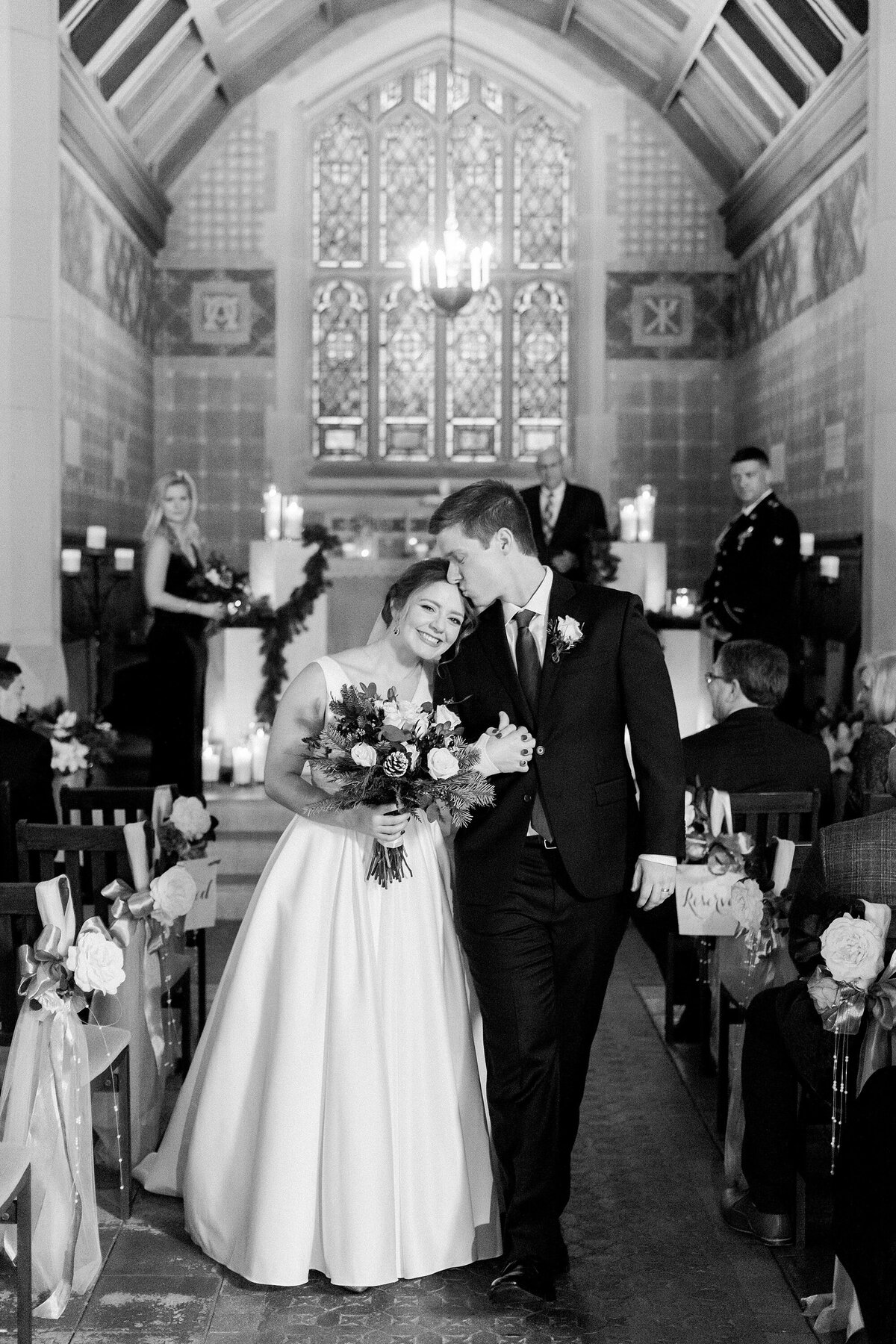 Alvirne Chapel Wedding NH By Halie-Ceremony-67