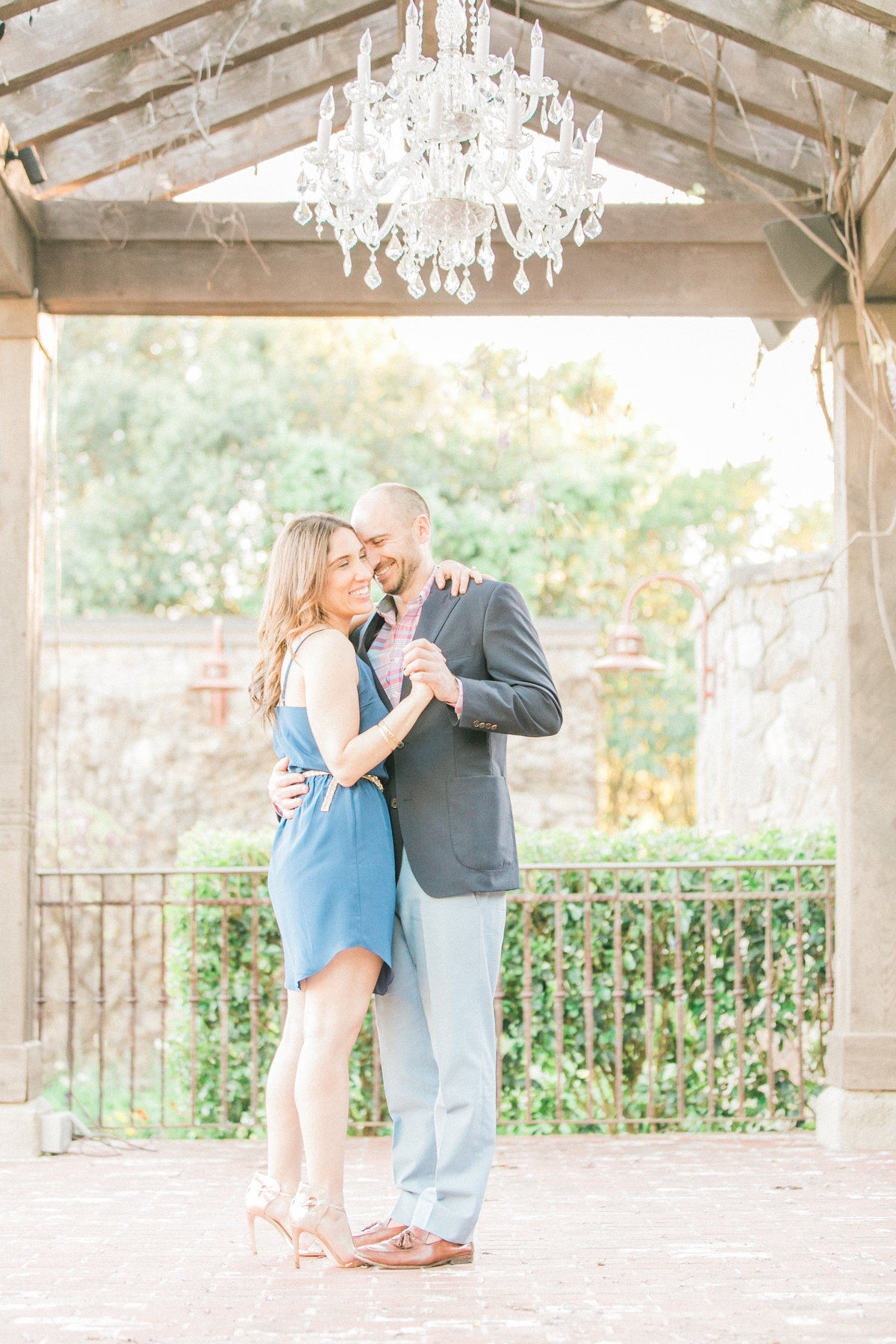The Vintage Estate Wedding Gazebo Engagement Napa