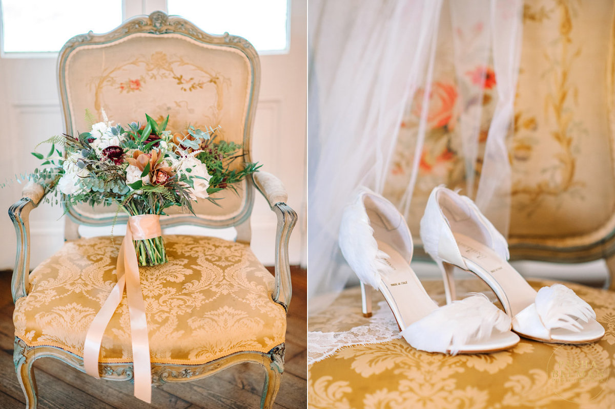 Inside The William Aiken House during a wedding of Kristen and Robert by Pasha Belman Photography