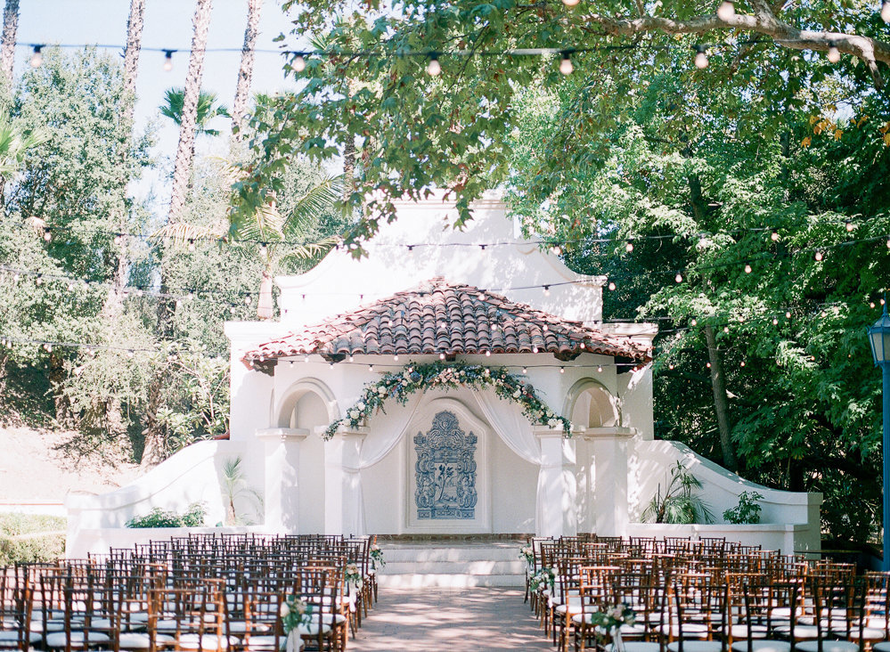 Rancho Las Lomas Wedding Fine Art Film Photographer - Hello Blue Photo -313