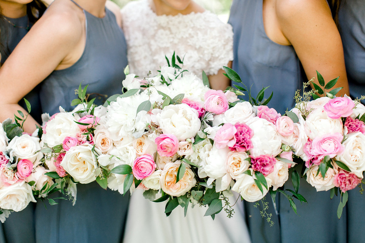 Chicago Botanic Gardens Wedding - Green and Pink Wedding_17
