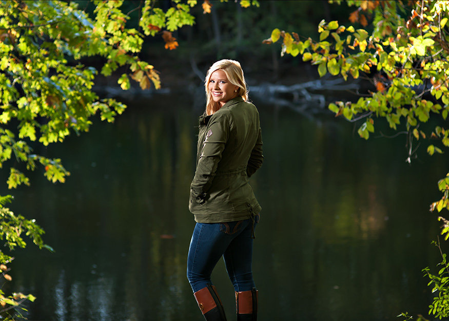 michigan senior portrait photographer