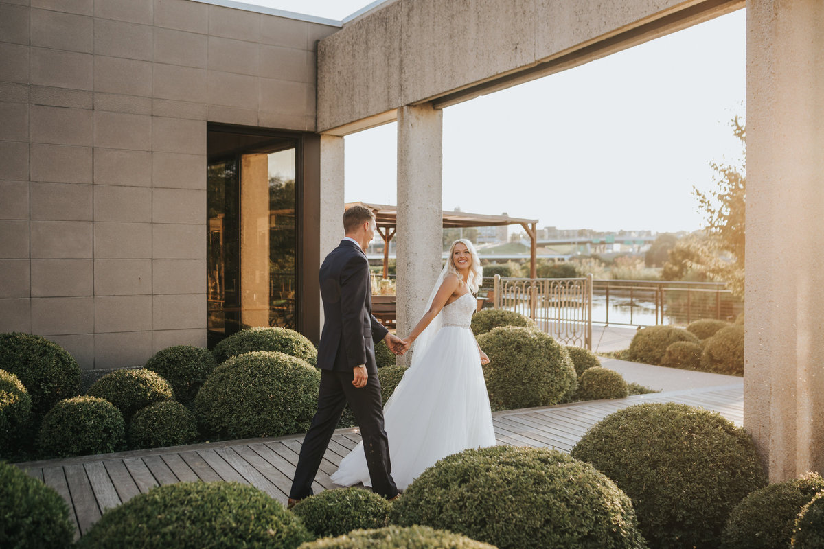 Botanical Gardens Wedding in Des Moines IA