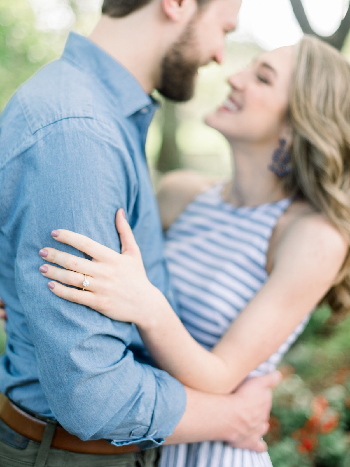 Courtney Hanson Photography - Dallas Spring Engagement Photos at Dallas Arboretum-2579