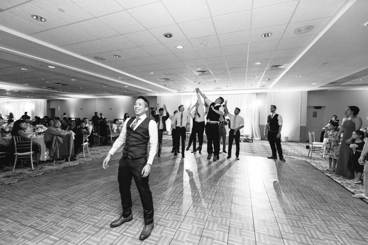 Wedding Garter Toss