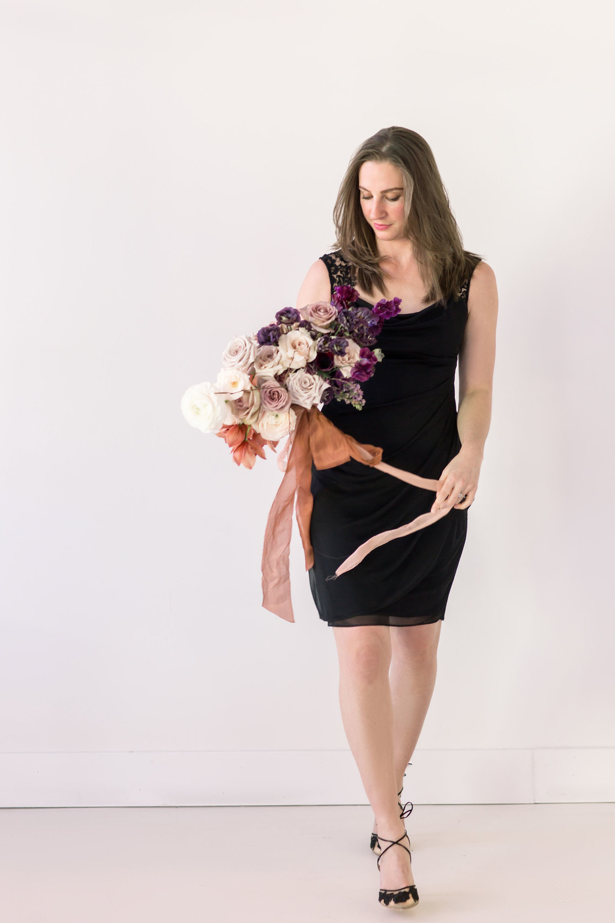 Studio photography for florist brand