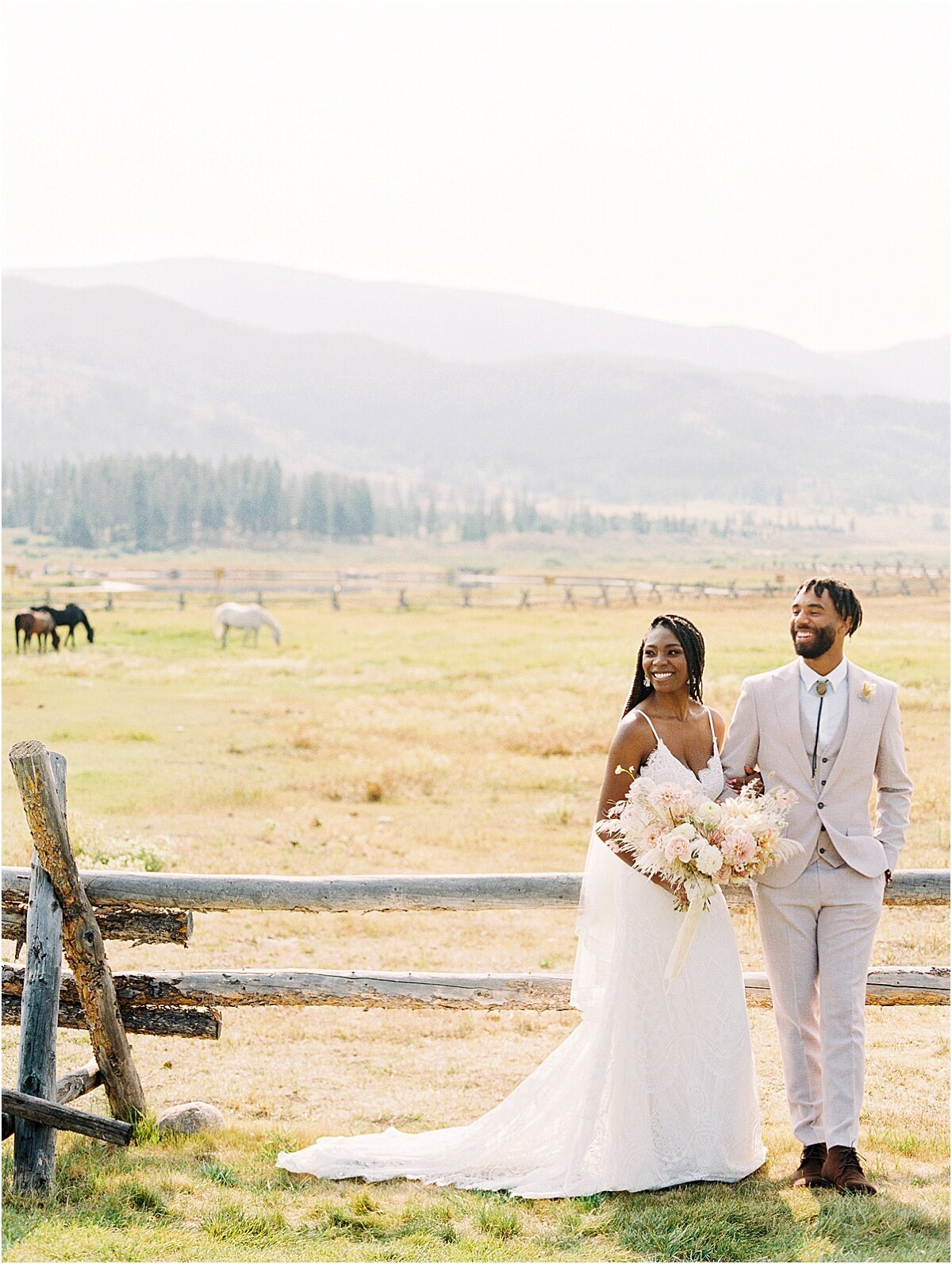 Ranch wedding colorado
