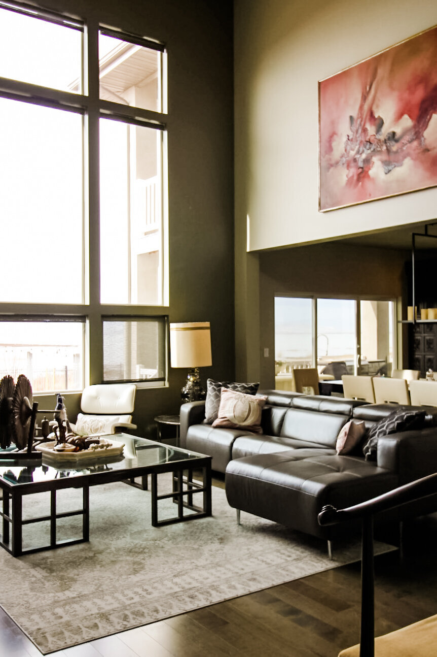 Jet and Tristy Great Room Design
