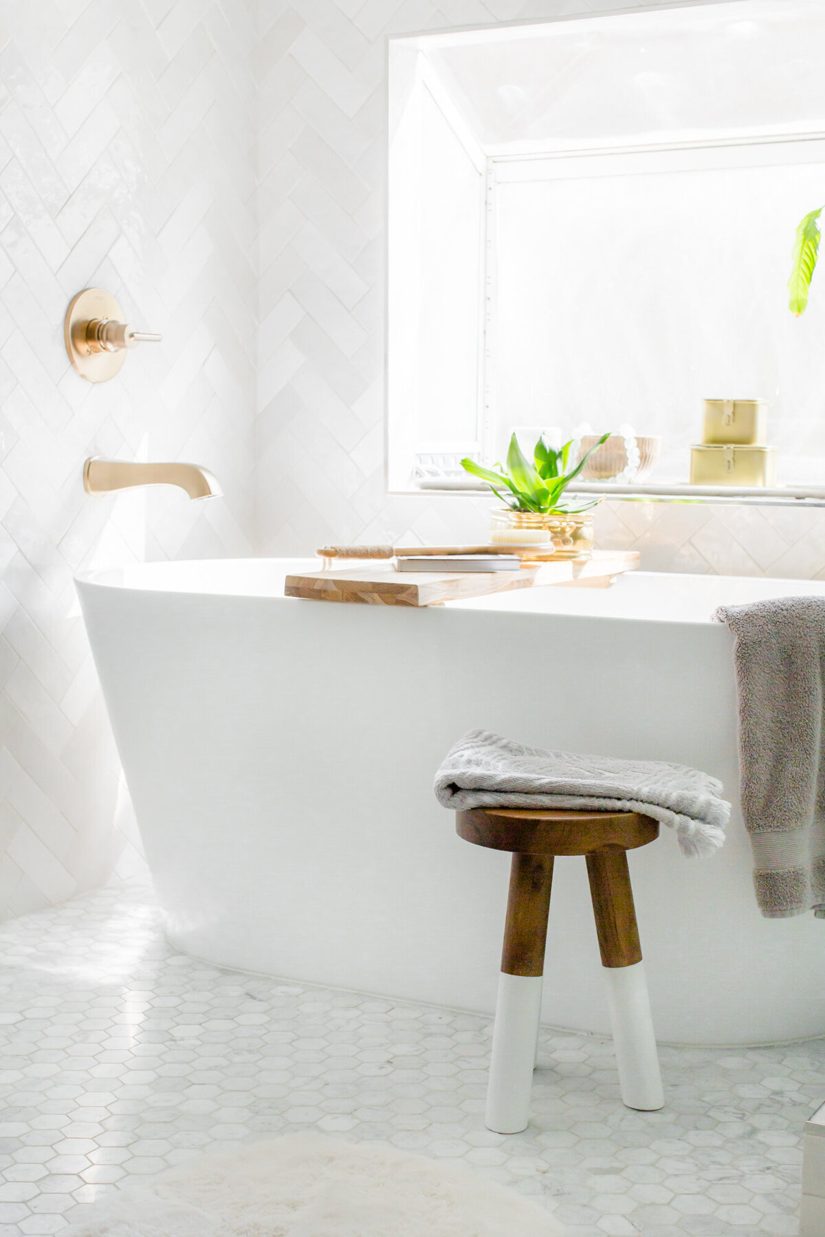 The Posh Home Bathroom Styling