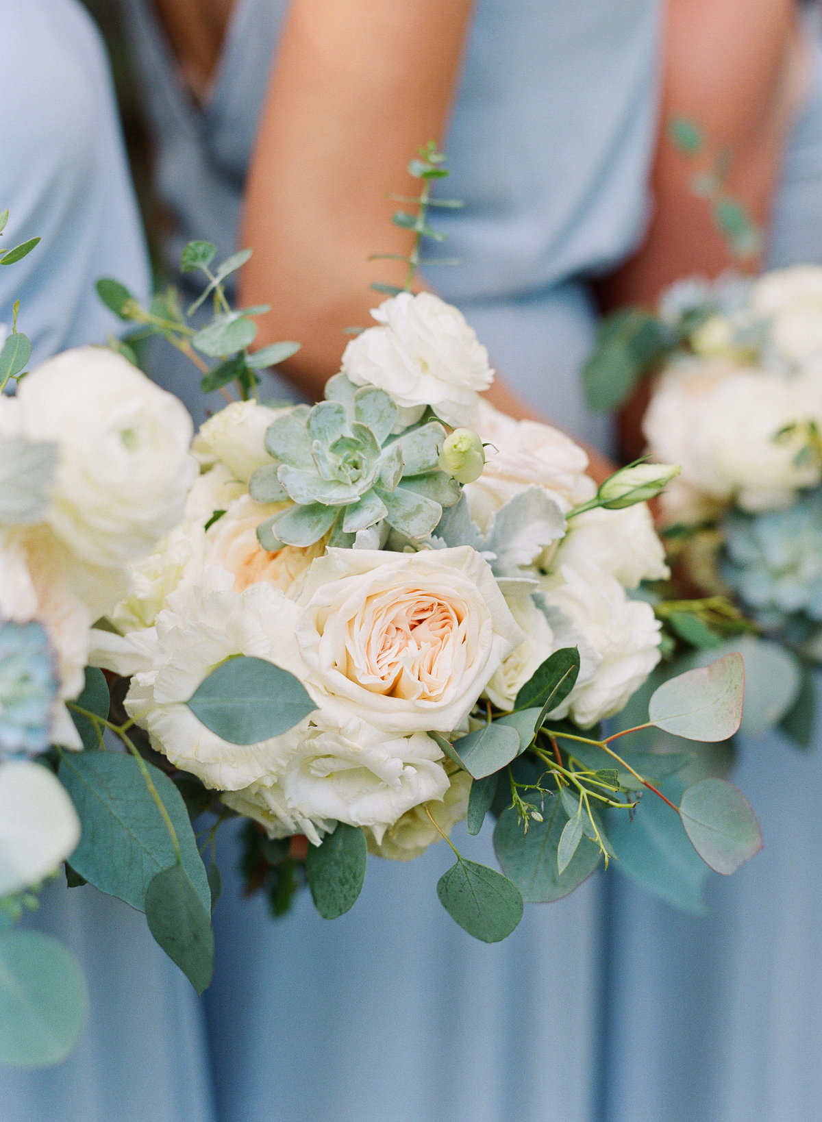 Bridesmaid Bouquet Piedmont Park Wedding