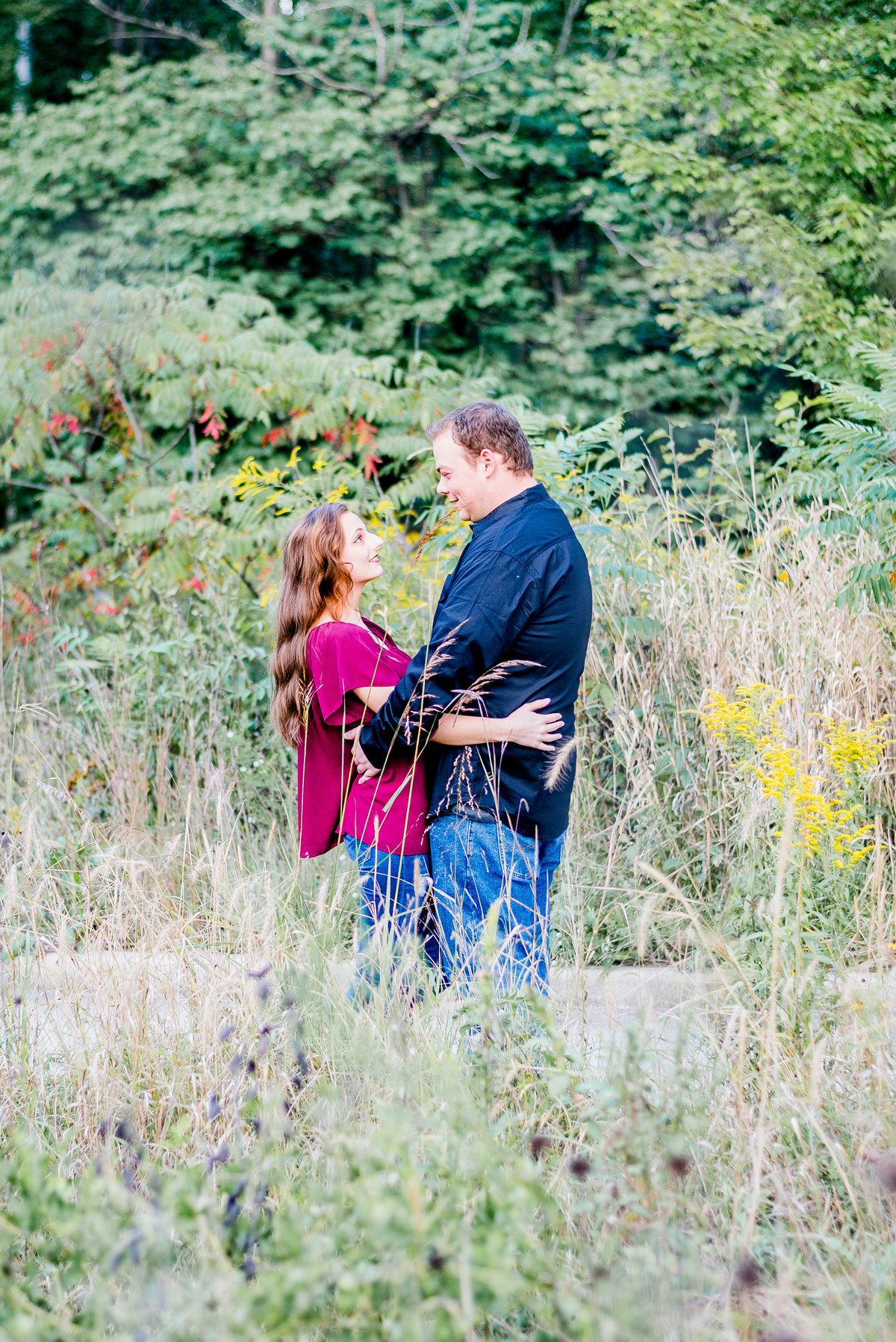 Engagement Photographer Couple Photographer 100 Acres Rustic Engagement-1