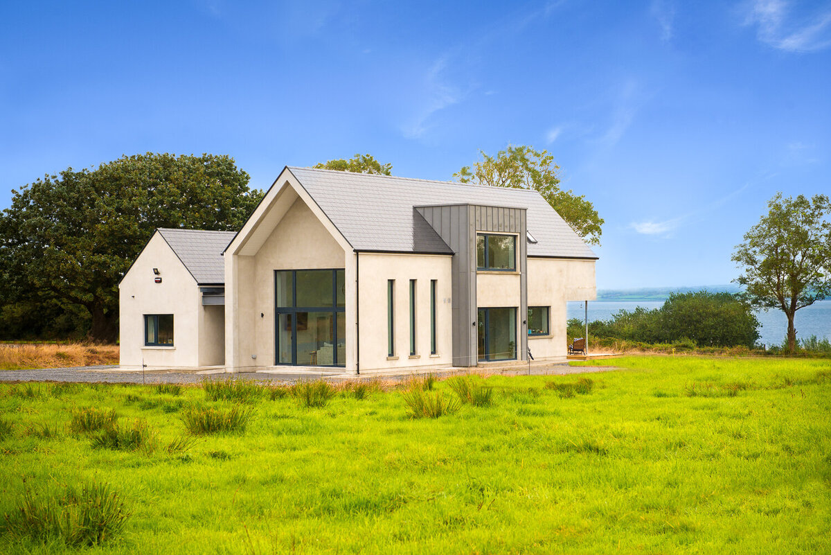 Architect designed house overlooking the sea in Tarbert