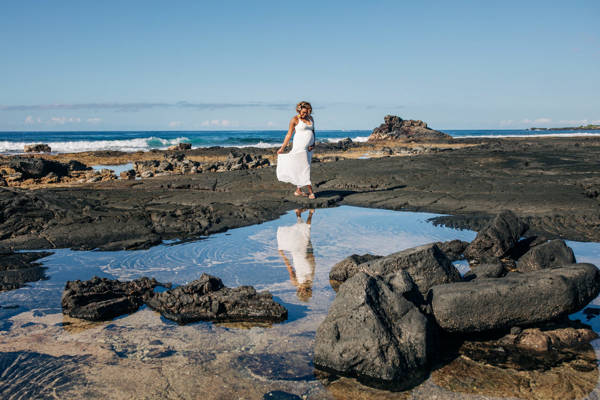 Kona Big Island Maternity Photographer (25)
