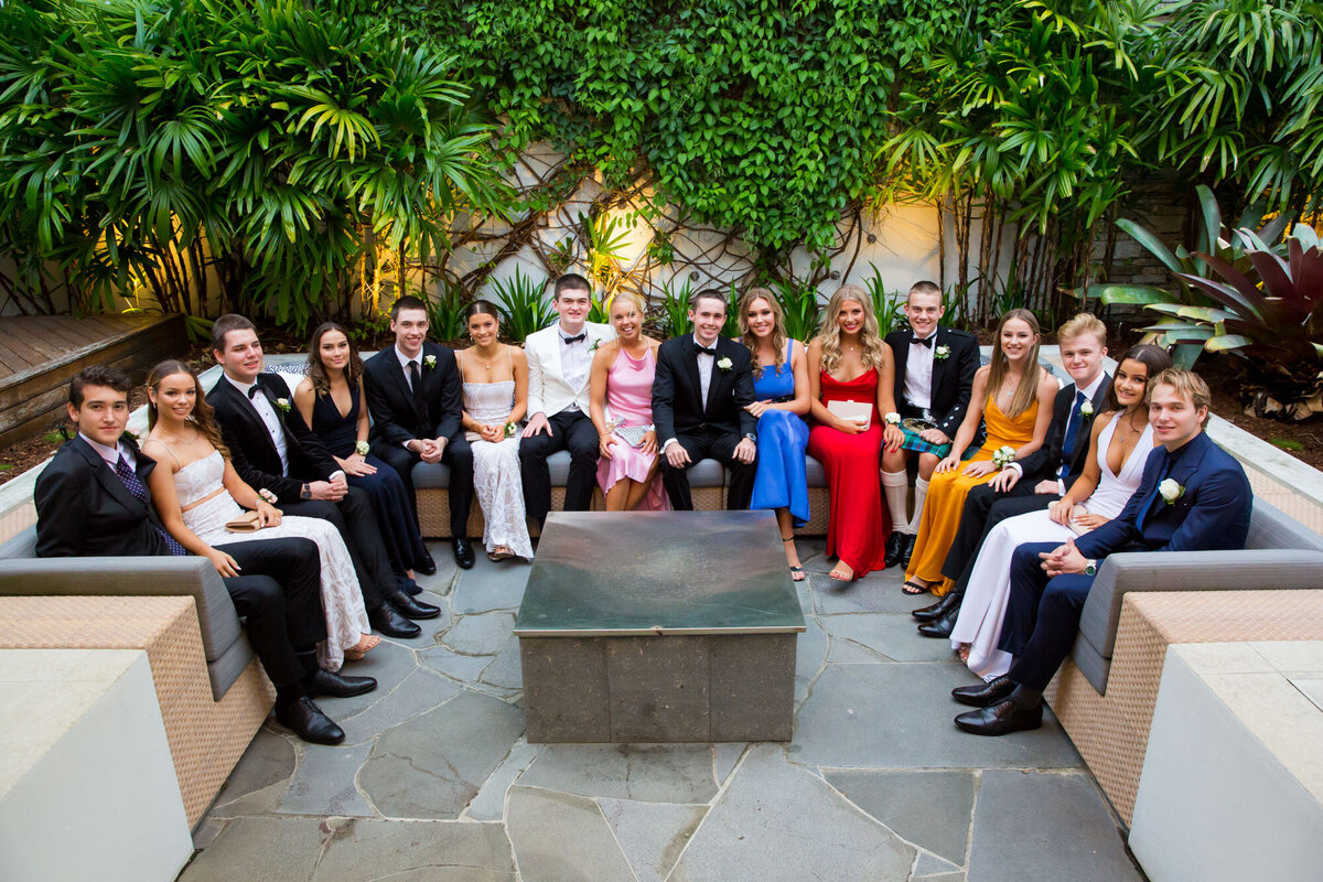 Brisbane Boys' College Pre Formal Photographer