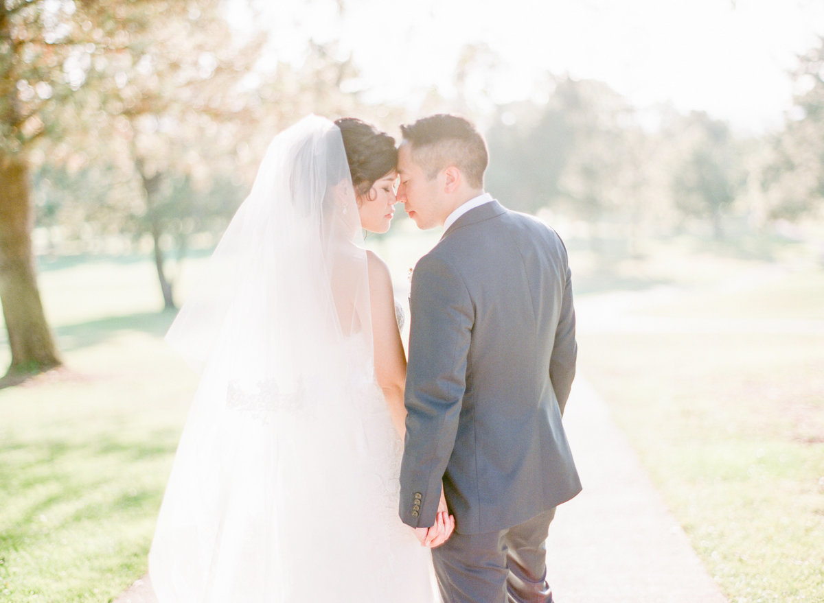 California Golden Hour Light Wedding