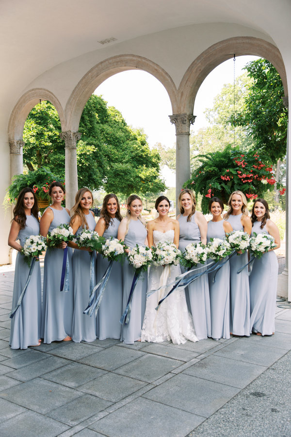 Bridesmaids-Light-Blue-Southern-Blooms-Congressional-Country-Club.