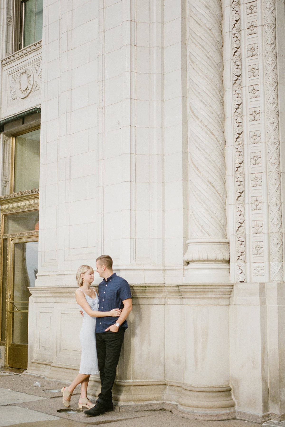 Chicago Wedding Photographer - Fine Art Film Photographer - Sarah Sunstrom - Sam + Morgan - Engagement Session - 23