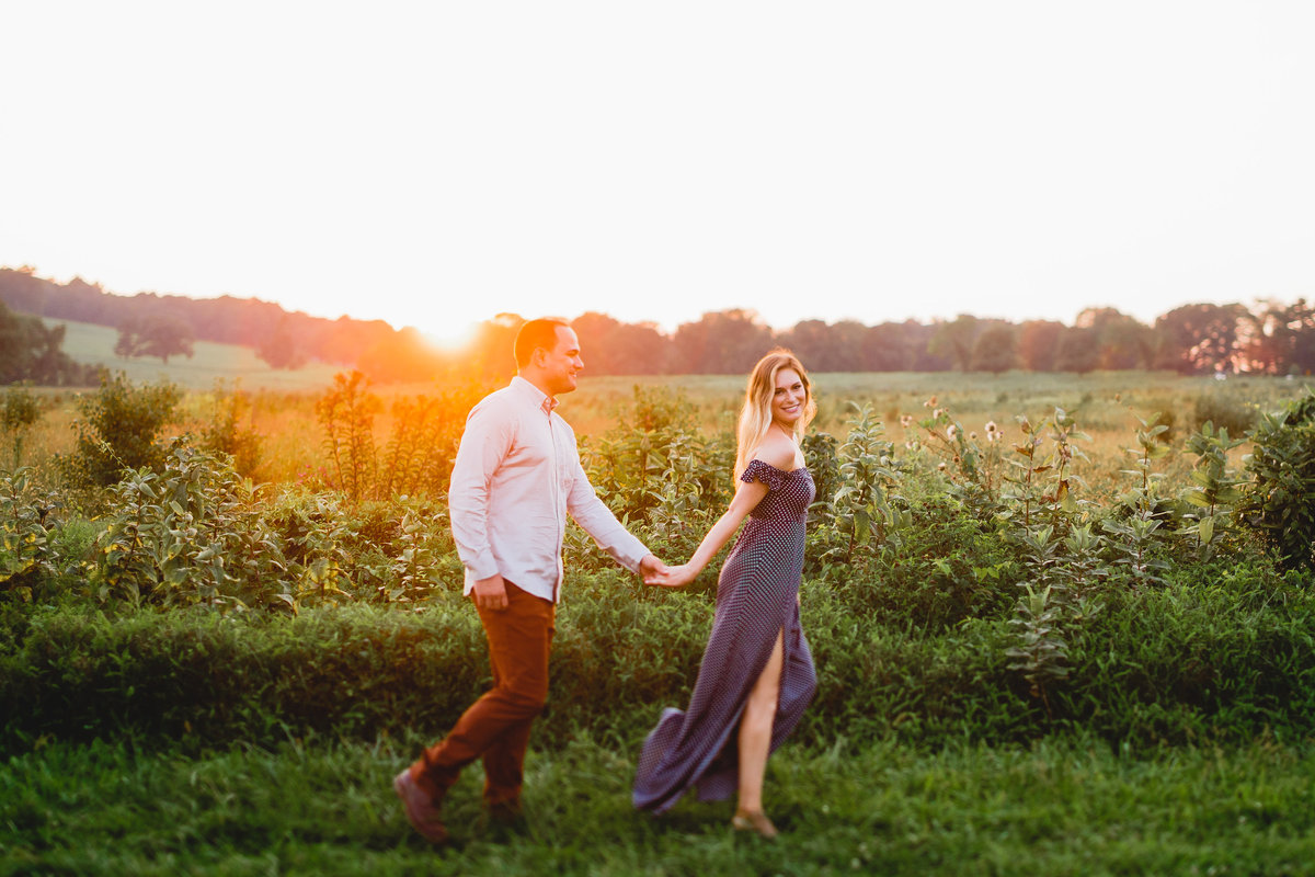 Valley Forge Park Engagement Session Photography 66
