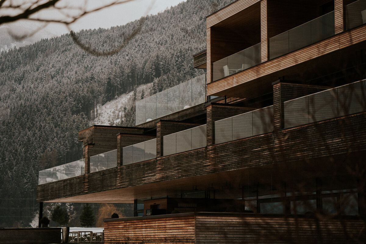 Zillertal hotel, architecture photographer