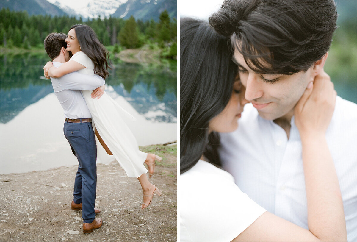 Gold Creek Pond Engagement on Film - Mountain View - Snoqualmie - Tetiana Photography - 20 - Copy