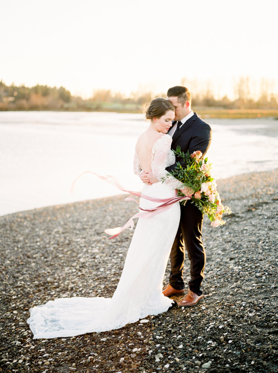 crescent beach wedding