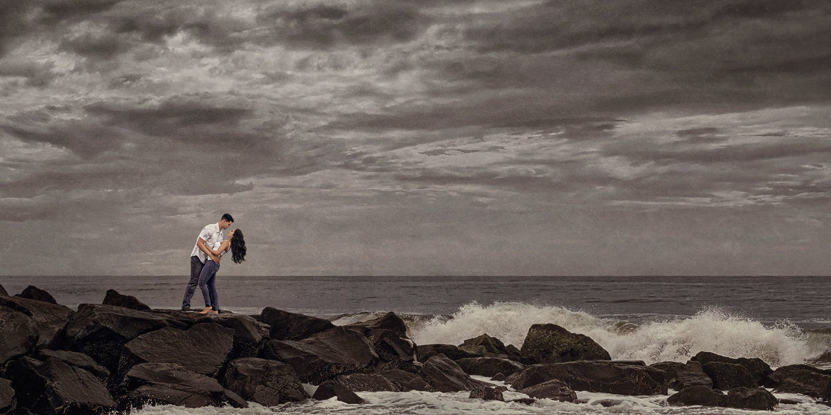 NJ Wedding Photographer Michael Romeo Creations Fav - 20160522 - MRC Signature - Beach Engagement-2