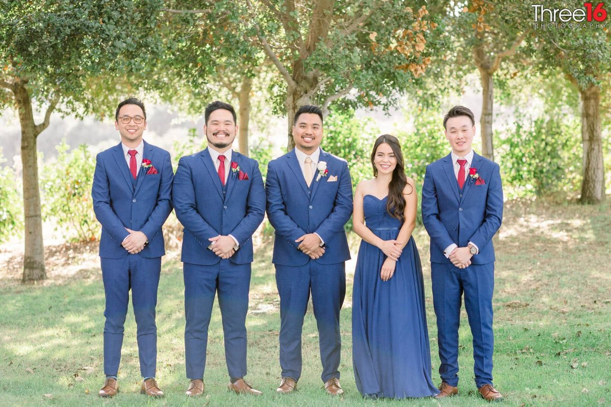 The Groomsmen and Groomswoman