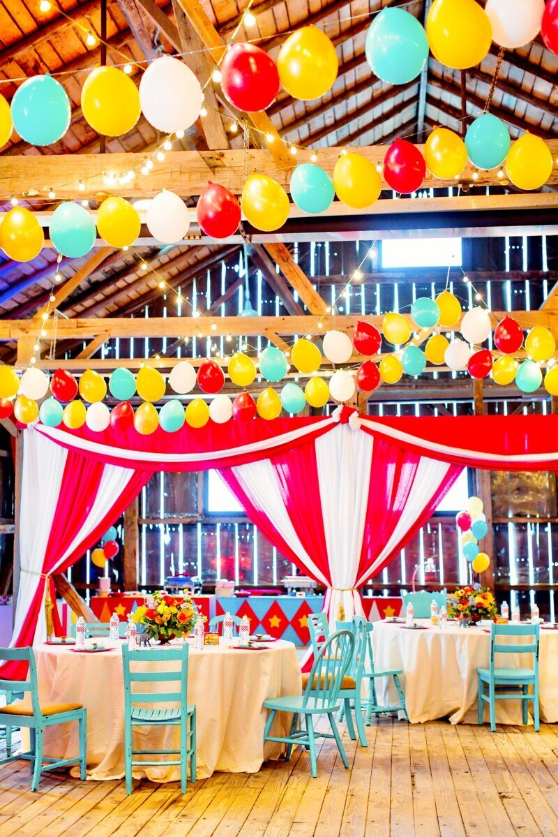 Circus Themed 1st Birthday Indianapolis Party Planner_0051