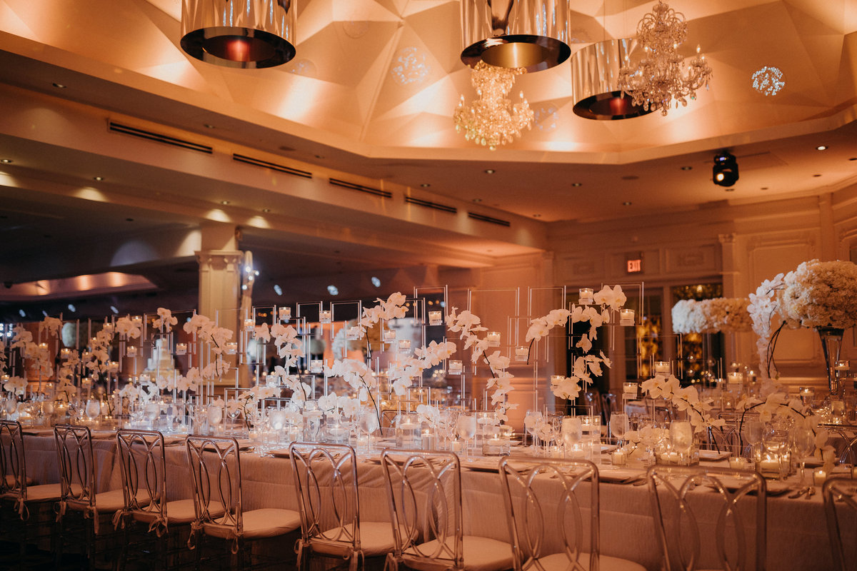 Westmount Country Club white modern New Jersey wedding 27
