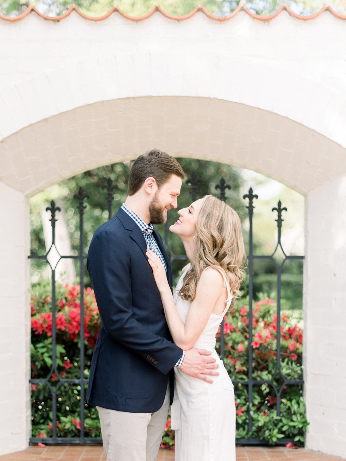 Courtney Hanson Photography - Dallas Spring Engagement Photos at Dallas Arboretum-2697