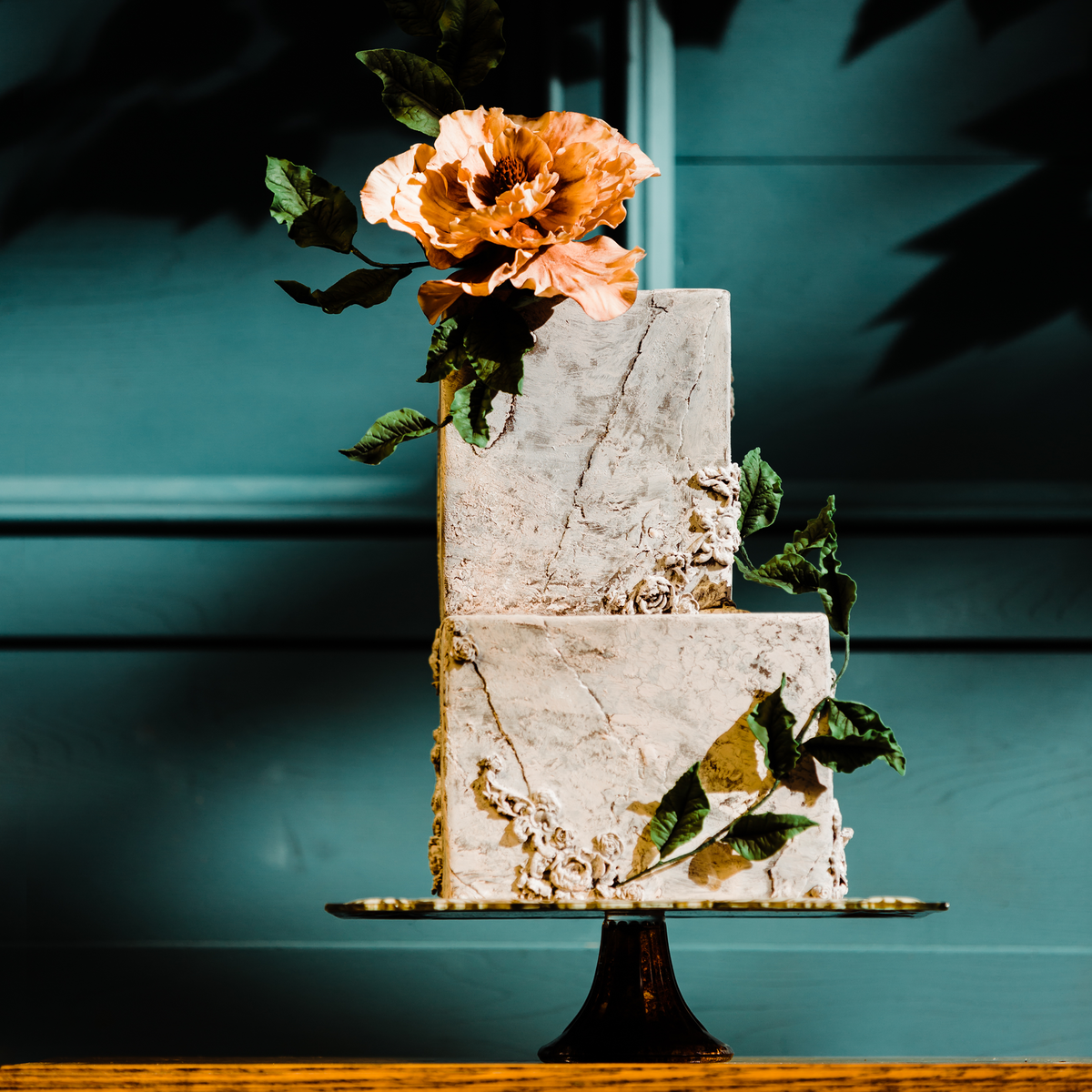 Whippt cake and sugar flower - KristiSneddonPhotography