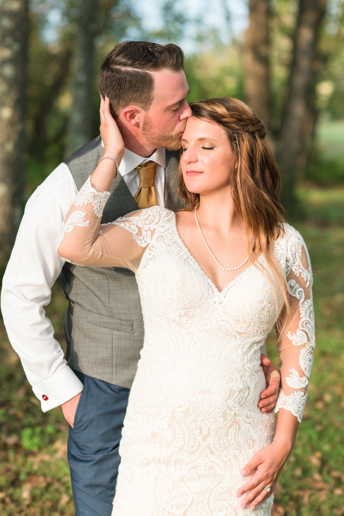 A Outdoor Private Home Wedding, Michelle and Sara Photography, Mebane NC5